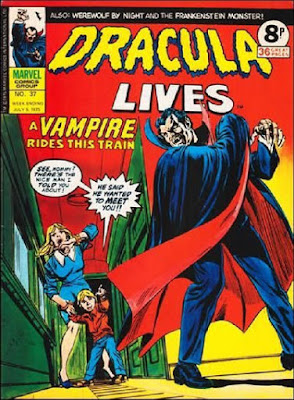 Marvel UK, Dracula Lives #37