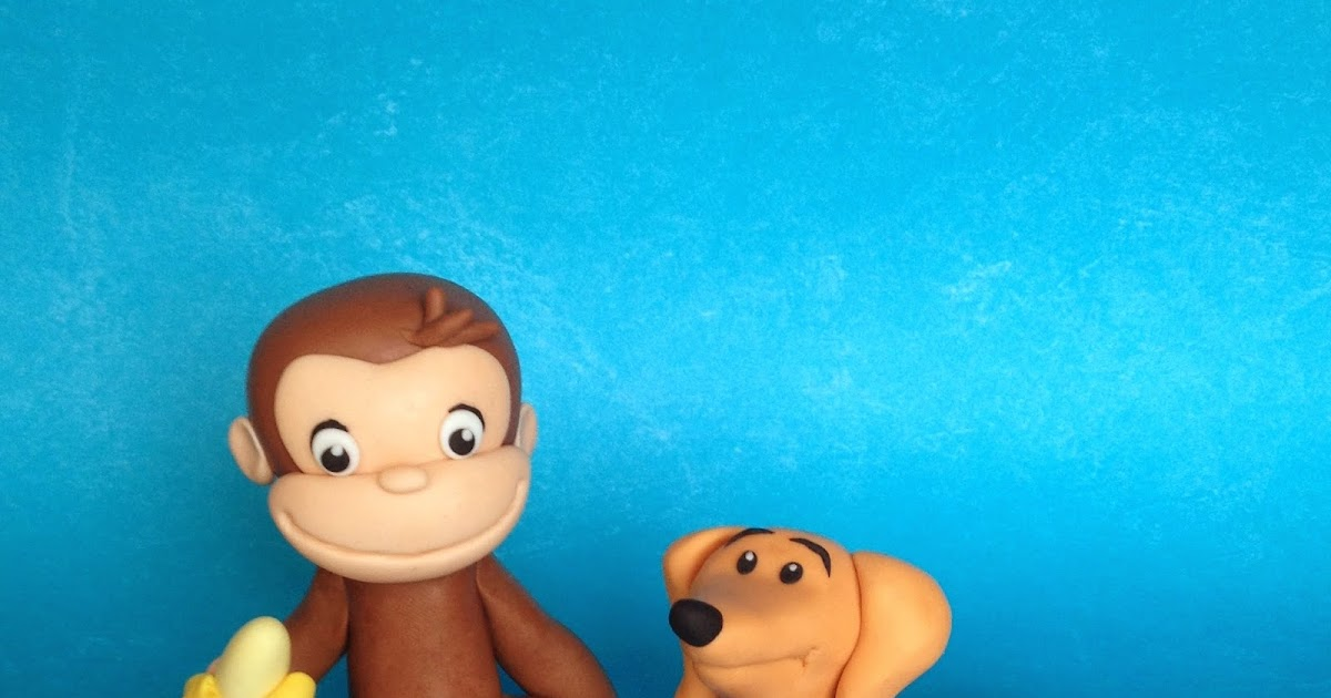 custom cakes by julie curious george cake amp cupcake toppers