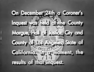 Christmas Dragnet.13 Dragnet The Big 22 Rifle For Christmas 1952