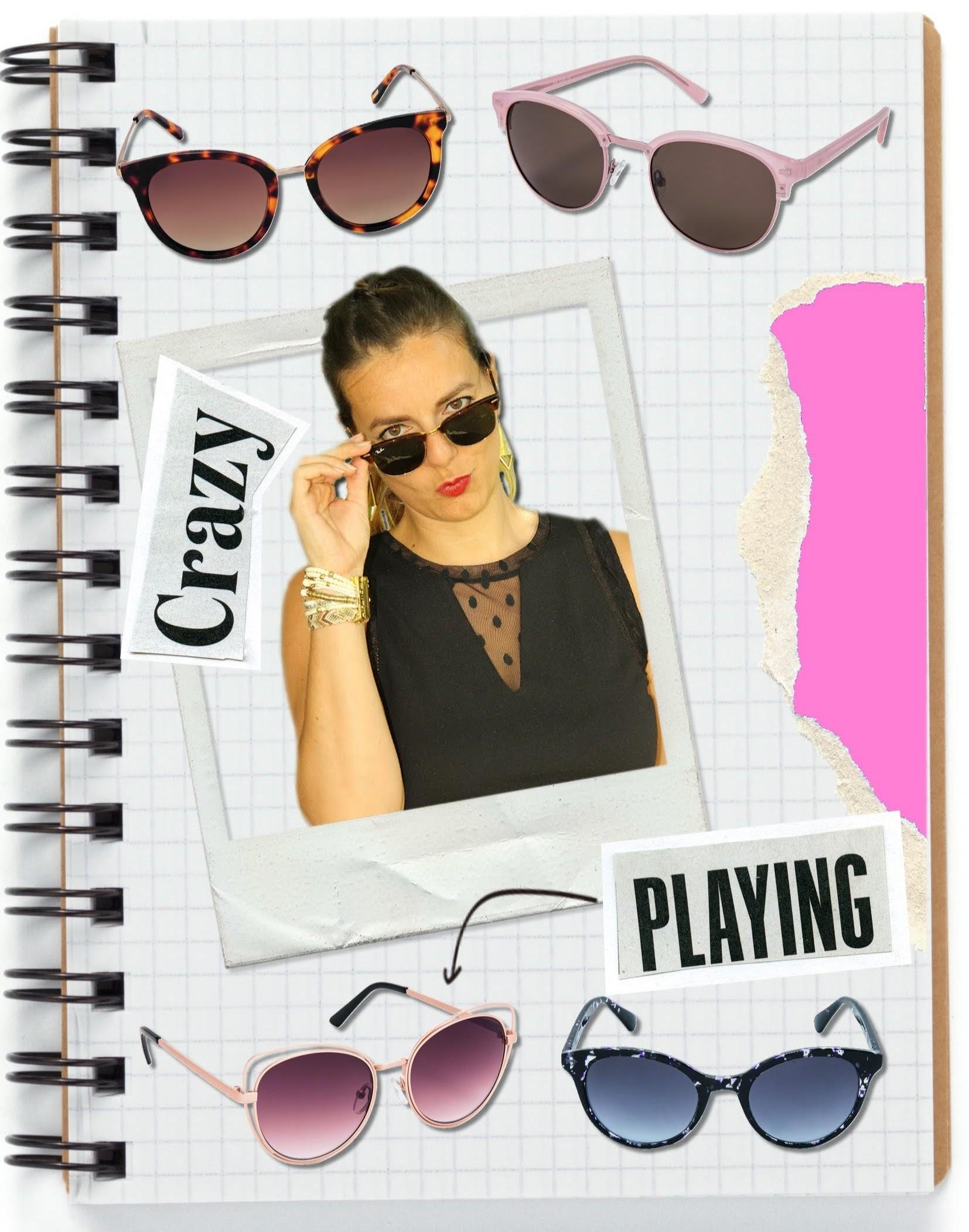 selection shopping lunettes de soleil, krys, les petites bulles de ma vie