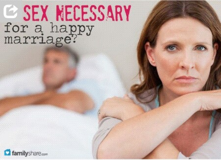 Is sex necessary in a marriage