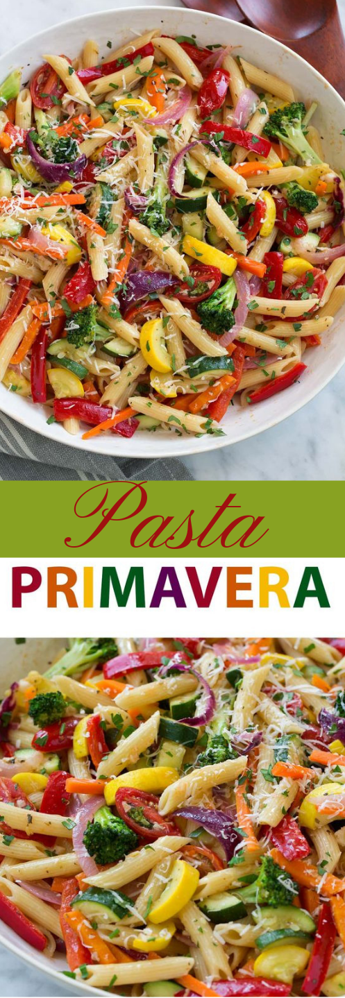 Pasta Primavera #healthydinner #eating