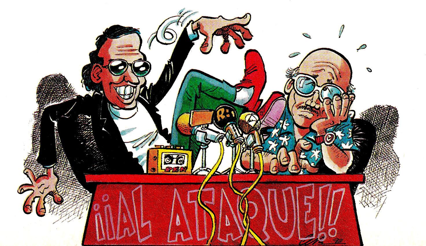Julio Iglesias y Papuchi Al Ataque