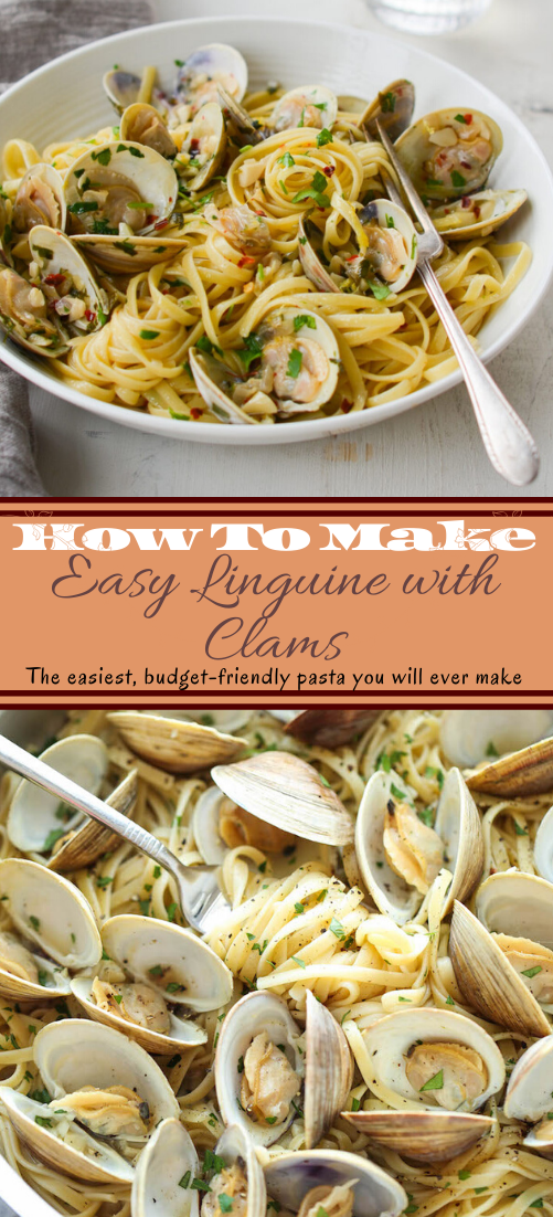 Easy Linguine with Clams #healthyfood #dietketo #breakfast #food