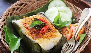 Resep Nasi Bakar Ayam Pedas Spesial