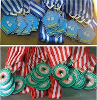 contoh model warna medali toga wisuda anak murah di tangerang selatan dan bandung raya