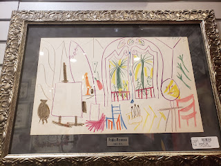 Pablo Picasso artworks at Gold and Silver Pawnshop Las Vegas Nevada