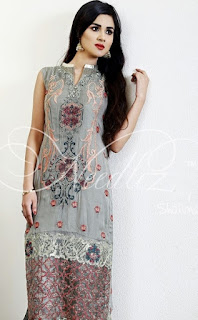 Needlez Formal Chiffon Eid Collection 2016-17 by Shalimar