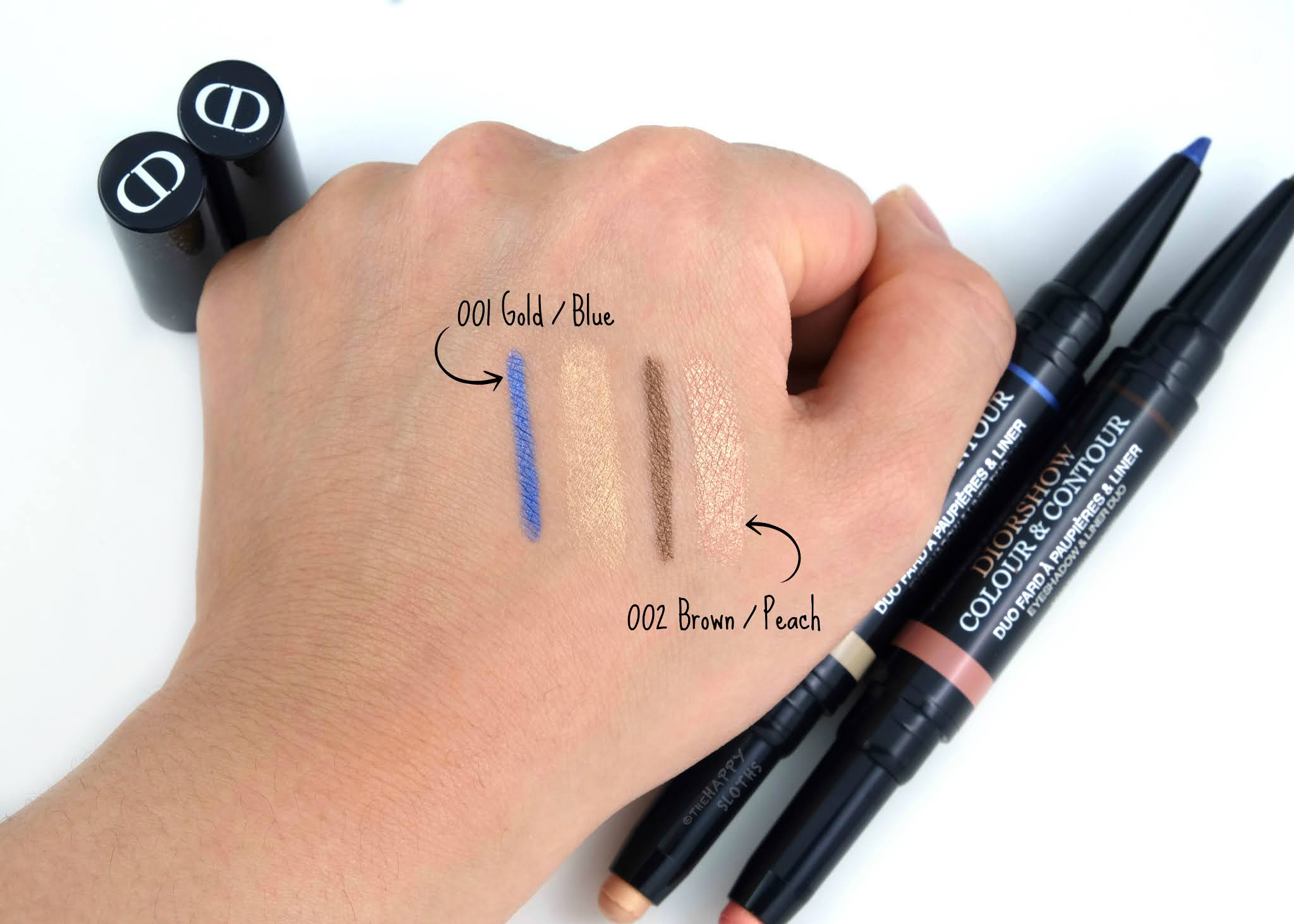 Dior Summer 2020 | Diorshow Colour & Contour Eyeshadow & Liner Duo: Review and Swatches