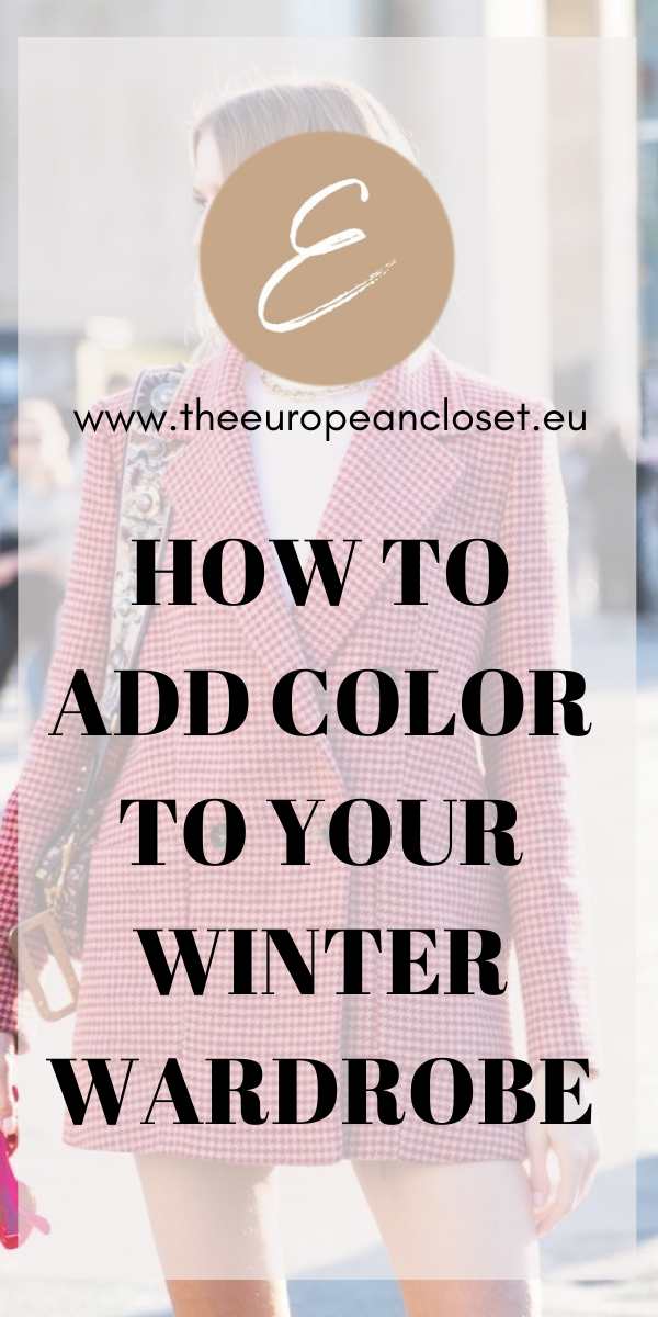 Bright colors are actually trending this A/W: pastel yellow, mind, and especially lilac/purple are a few of the ''it'' colors of this cold season. Every store has at least one of these colors in their a/w 2019 collections. Here are a few ways you can incorporate color into your winter wardrobe.