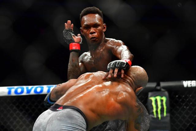 Israel Adesanya Def. Yoel Romero UFC 248