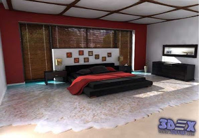 3d-flooring, 3d beach  floor painting for bedroom 2017