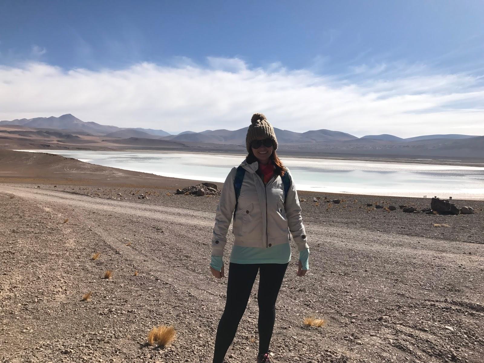 Laguna Tuyacto - Deserto do Atacama