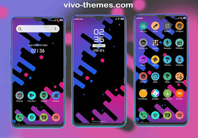 Aurora Theme For Vivo Android Smartphones