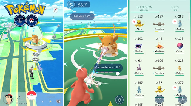 Pokemon Go Android Download Photo