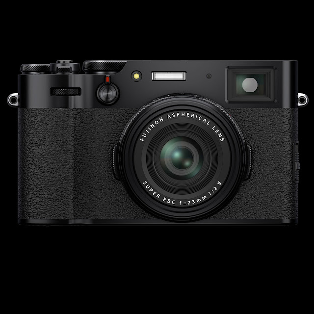 Fujifilm X100V hero in black