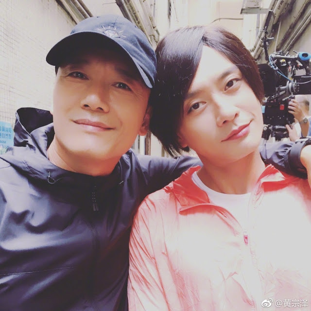 Bosco Wong dressed as girl