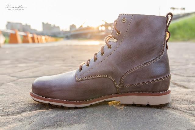 「敗家之路」Timberland 深褐色復古摔紋高筒靴 - 1