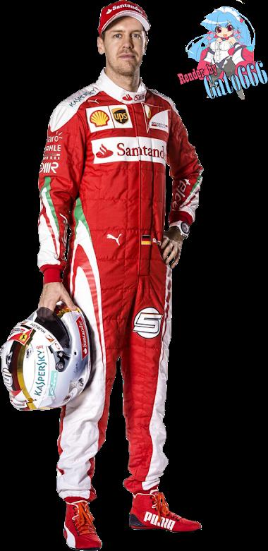 Sebastian Vettel - Ferrari - 2016 - R3nder16