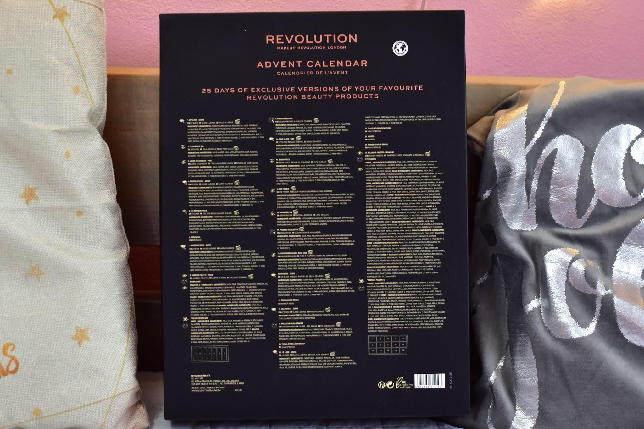Revolution adventný kalendár