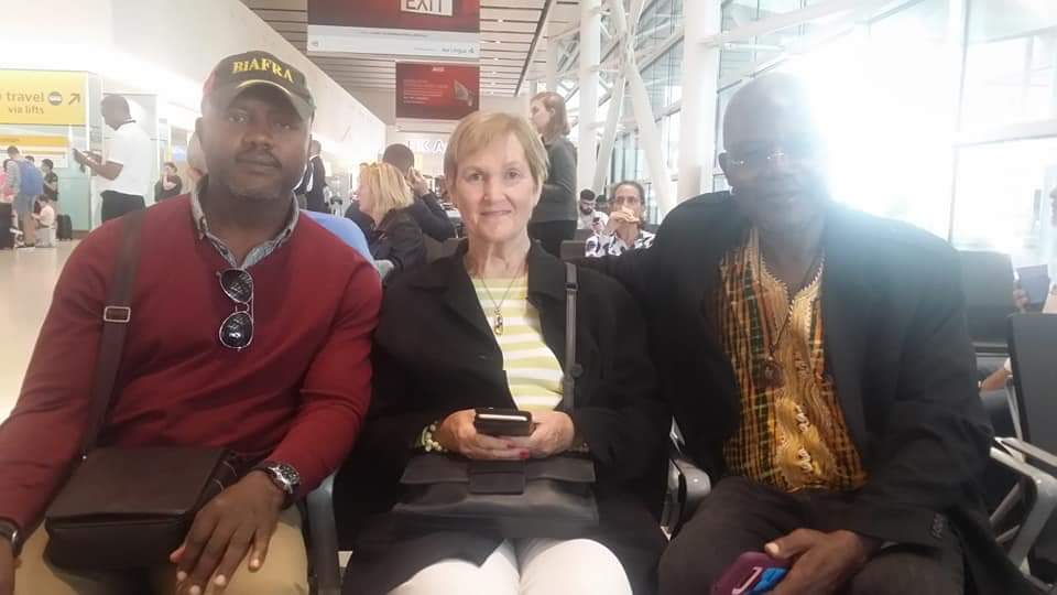Two American Professors Arrive in UK for Biafra Genocide