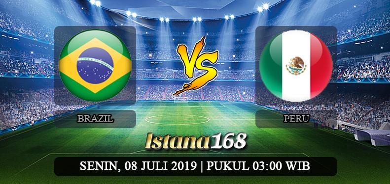 Prediksi Brazil vs Peru 08 Juli 2019