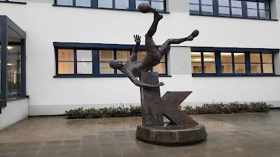 Statua calciatore