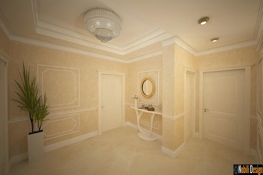 Design interior living casa clasica de lux - Proiect design interior casa