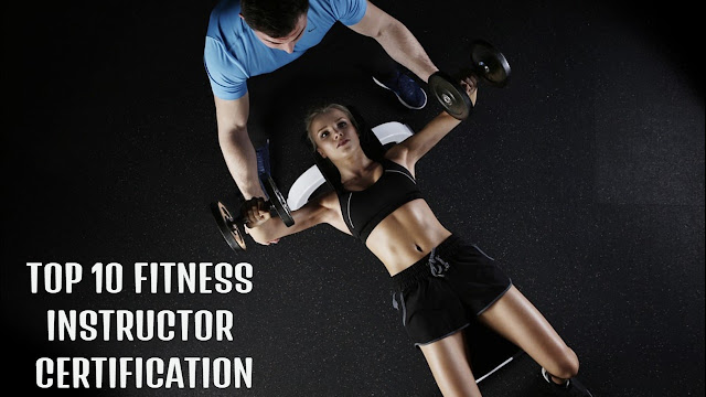 Top 10 best fitness instructor certification and fitness gym courses