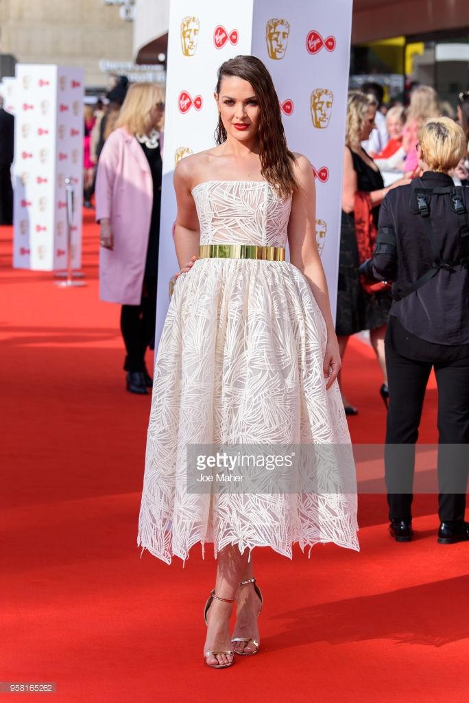 Anna Passey look Bafta