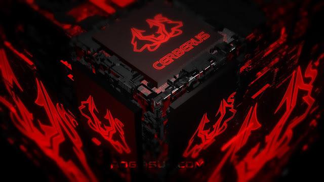 3D Cubo ASUS Cerberus