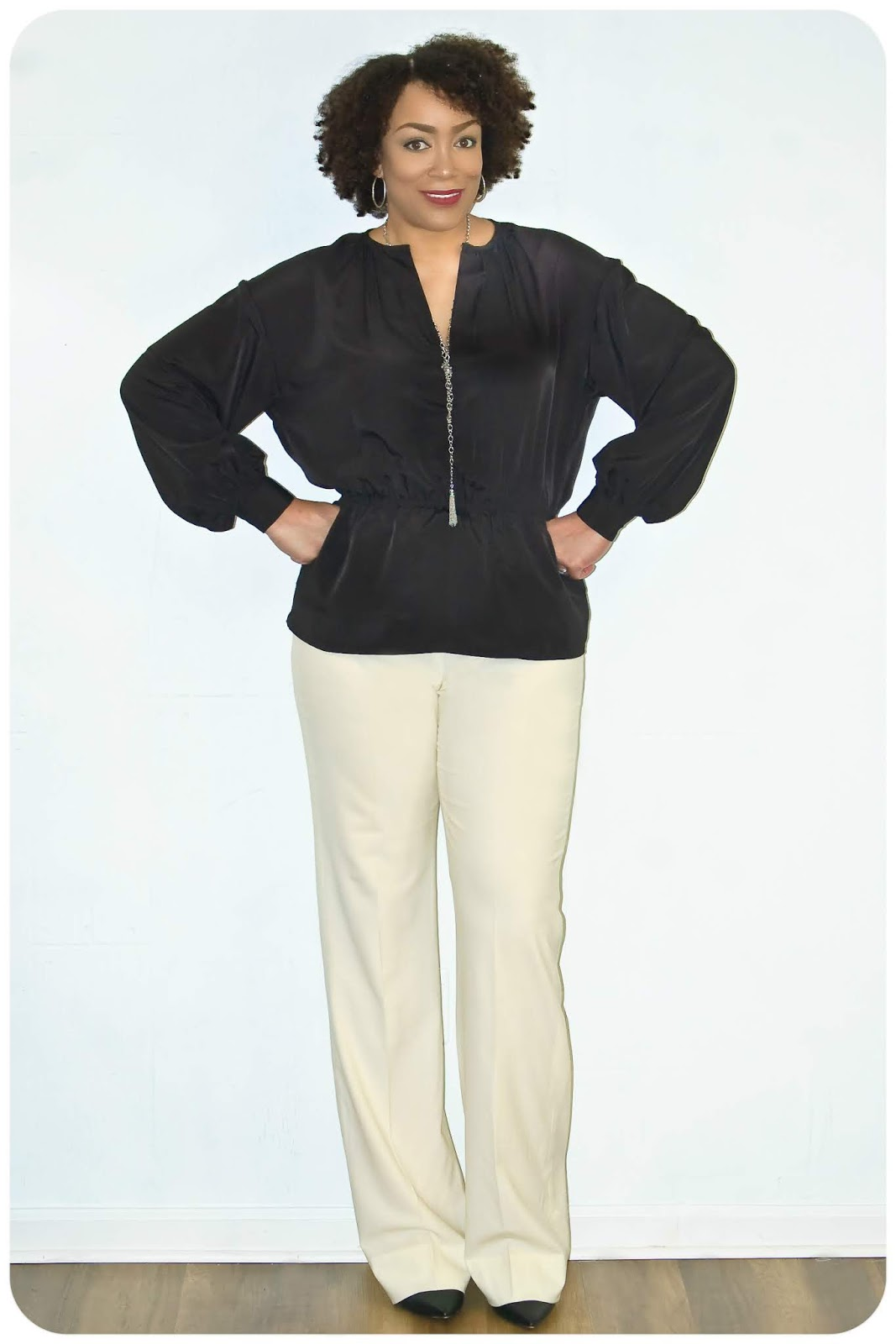 McCall's 7868 - Peachskin Tunic - Erica Bunker DIY Style!