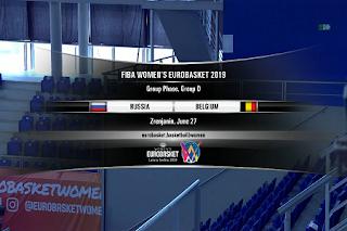 FIBA Women's EuroBasket Eutelsat 7A/7B Biss Key 27 June 2019