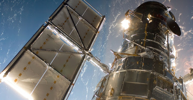 Hubble Space Telescope in Orbit. Credit: NASA