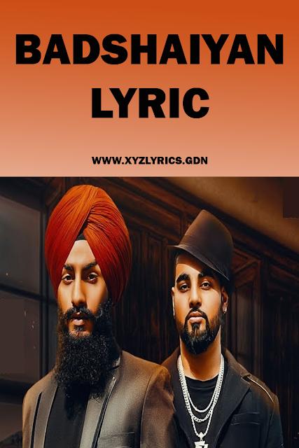 BADSHAIYAN SONG LYRIC | Laddi Sidhu | Jasraj Lailna | Video