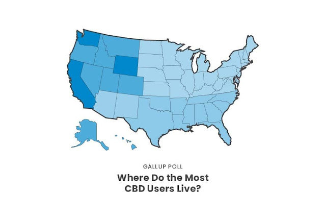Where Do the Most CBD Users Live?