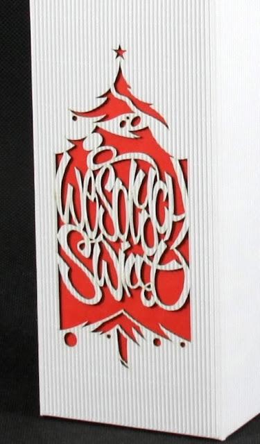 Opakowanie świąteczne z logo