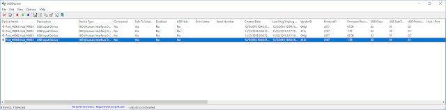 تحميل برنامج فحص فلاش USB مجانا للكمبيوتر USBDeview 2.6