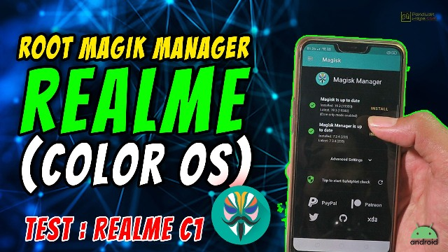 root magisk manager realme