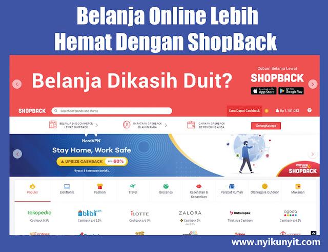 Cara Daftar Dan Mendapatkan Cashback Di Shopback