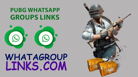 PUBG WhatsApp Grous Links