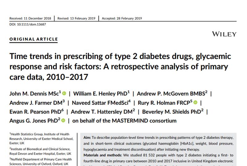 a1 avance reciente en la investigación de diabetes tipo 2