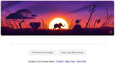 Bersama Seluruh Umat Manusia Dan Isinya Di Bumi, Google Memberi  Doodle Selamat Hari Bumi