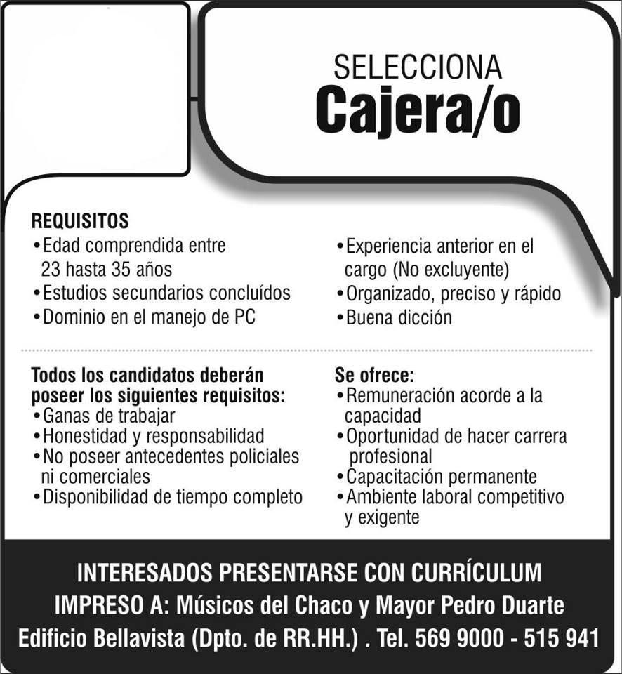 Dorable Deberes Y Responsabilidades Del Cajero Cv Modelo - Ejemplo ...