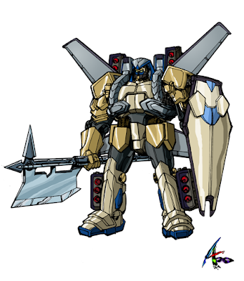 XCD-103+XCD-102 Heavy Armor Eisenpferd