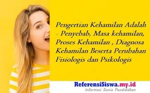 Pengertian Kehamilan Adalah - Penyebab, Masa kehamilan, Proses Kehamilan , Diagnosa Kehamilan Beserta Perubahan Fisiologis dan Psikologis