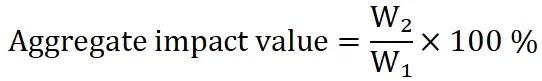 Aggregate Impact Value Test Procedure, IS 2386 Part 4-1963