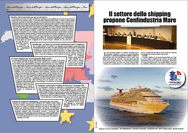 NOVEMBRE 2018 PAG. 9 - Il settore dello shipping propone Confindustria Mare