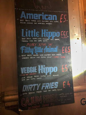 Enchanted Parks: Saltwell Park, Fat Hippo Menu