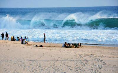Lokasi, rute dan tiket masuk ke wisata pantai ujung genteng sukabumi